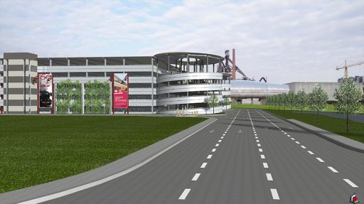 Park & Ride in Esch-Belval University