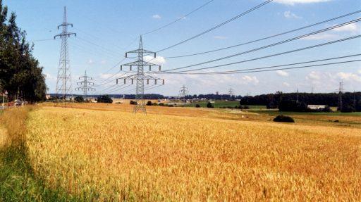 High Voltage Line between Leudelange & Luxembourg